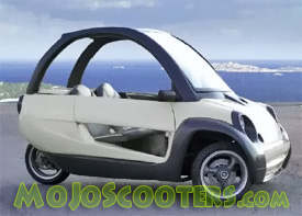 3 Wheel Scooter Cars: Scooters for sale at MoJo Scooters com