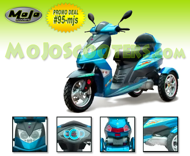3 Wheel Scooters Trikes Scooters For Sale At Mojo Scooters Com